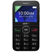 "ALCATEL TELEMOVEL 2008G 2.4"" 2MP SD BLACK"
