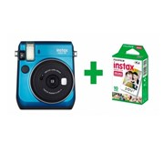 FUJIFILM KIT INSTAX MINI 70 BLUE + 10 SHOTS