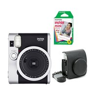 FUJIFILM INSTAX MINI 90 + 10 SHOTS + CASE BLACK