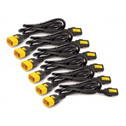 APC CABLE POWER CORD KIT (6 ea) LOCKING C13 TO C14 1.2M