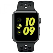 APPLE WATCH NIKE+ GPS 42MM SPACE GREY ALUMINIUM CASE ANTHRACITE/BLACK NIKE SPORT
