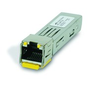 ALLIED TELESIS SFP PLUGGABLE MODULE 10/100/1000TX 100M RJ45 CONN. (0 TO 70°C)