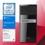 BOX SYSTEMS UK6011 i5-9400 8GB 1TB HDD W10 P + OFFICE H&B 2019 #PROMO#