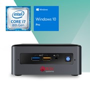 BOX SYSTEMS ESSENTIAL KR1900 NUC i7-8559U 4GB 120G SSD W10P
