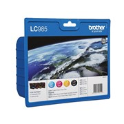 BROTHER TINTEIRO LC985 PACK 4CORES