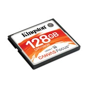KINGSTON SD 128GB CANVAS FOCUS UP TO 150R/130W UDMA7 VPG-65