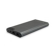 CONCEPTRONIC POWERBANK 10000MAH LCD DISPLAY GREY #PROMO ACESS#