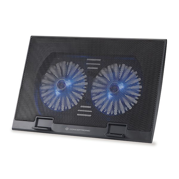 "CONCEPTRONIC NOTEBOOK COOLING PAD THANA 17.3"" 2 FANS"