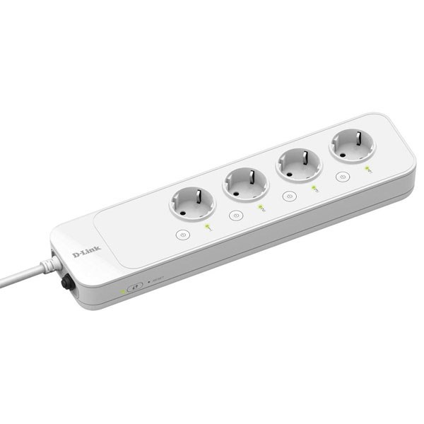 D-LINK POWER TOMADA INTELIGENTE WIFI STRIP 4 CONTROLLABLE SOCKETS