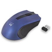 EWENT MOUSE WIRELESS 1200 DPI BLUE