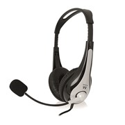 EWENT HEADSET PRO WITH MIC AND VOLUME CONTROL JACKS 3.5""