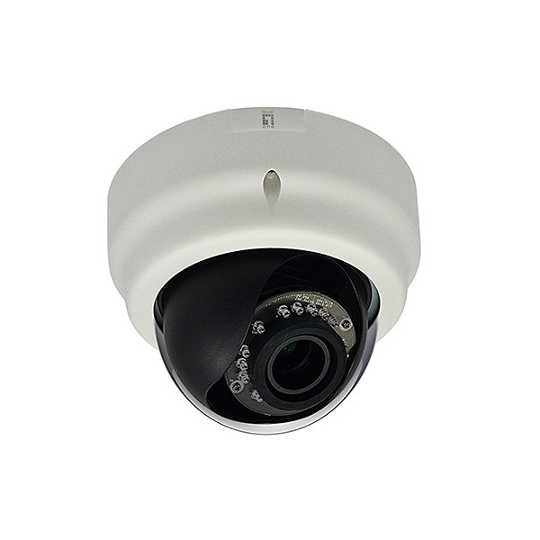 LEVELONE CAM IP FIXED DOME DAY/NIGHT, 5M, H.264, POE, WDR