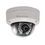 LEVELONE FIXED DOME NETWORK CAMERA, 5MP , POE, IR LEDS OUTDOOR IP66