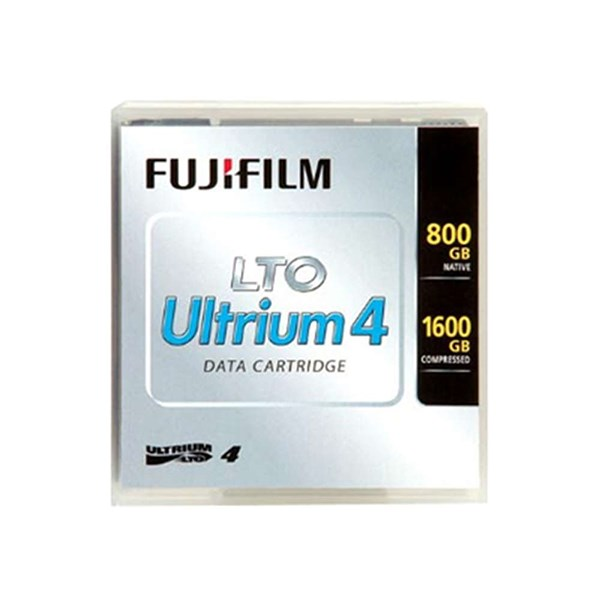 FUJIFILM LTO4 TAPE 800 GB / 1.6 TB ULTRIUM + BARCODE LABEL