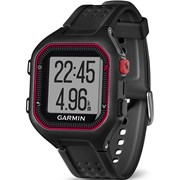 GARMIN GPS CORRIDA RELOGIO FORERUNNER 25 EUROPE BLACK/RED