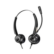 UF MOVEE: OVER-THE-EAR USB WIRED HEADSET WITH REMOTE CONTROL