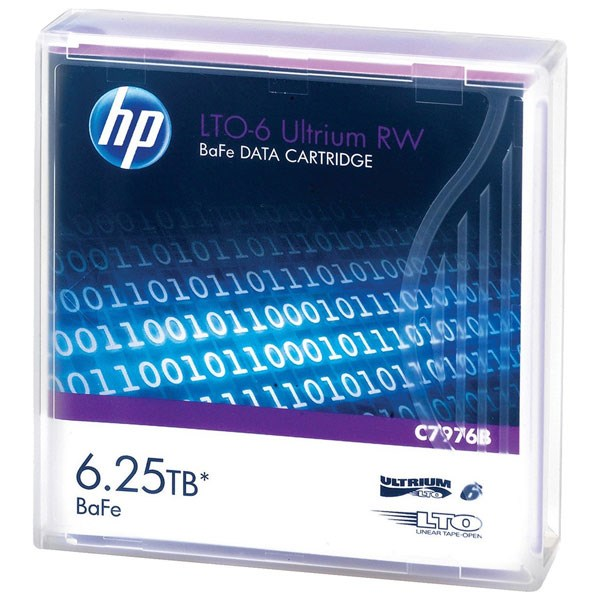 HPE LTO-6 ULTRIUM 6.25TB BAFE RW DATA CARTRIDGE