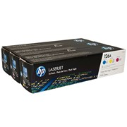 HP TONER 126A PACK 3 CORES AMARELO CYAN MAGENTA