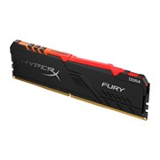 KINGSTON MEM 16GB 2666MHZ DDR4 CL16 DIMM HYPERX FURY RGB