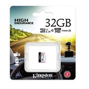 KINGSTON SD 32GB MICRO SDXC ENDURANCE 95R/30W C10 A1 UHS-I CARD ONLY