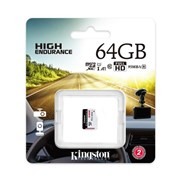 KINGSTON SD 64GB MICRO SDXC ENDURANCE 95R/30W C10 A1 UHS-I CARD ONLY