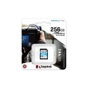 KINGSTON SD 256GB SDXC CANVAS GO PLUS 170R C10 UHS-I U3 V30