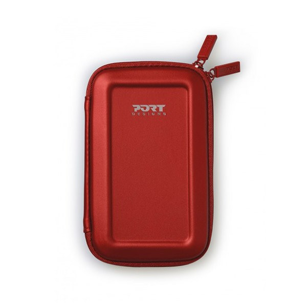 PORT HARD CASE COLORADO SHOCK PROOF HDD RED