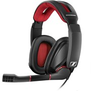 SENNHEISER HEADSET GAMING GSP350 7.1 PC NOISE CANCEL RED