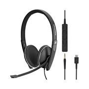 SENNHEISER HEADSET ADAPT SC 165 USB-C + JACK 3.5 #PROMO OFFICE#