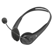 TRUST HEADSET INSONIC CHAT JACK 3.5MM