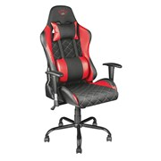 TRUST CADEIRA GAMING RESTO GXT707 RED/BLACK