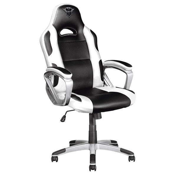 TRUST CADEIRA GAMING RYON GXT705W WHITE/BLACK