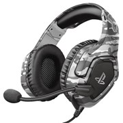 TRUST HEADPHONES GAMING GXT488 FORZE GREY CAMO PS4 EXCLUSIVE