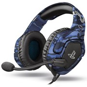 TRUST HEADPHONES GAMING GXT488 FORZE BLUE CAMO PS4 EXCLUSIVE