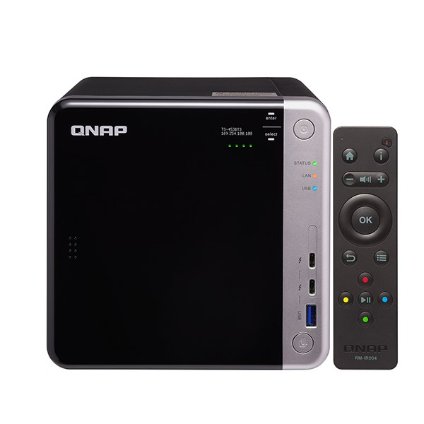 "QNAP NAS TORRE 4x2.5""/3.5"" SATA 6GB INTEL J3455 1.5GHZ QUAD CORE 8GB DDR3"