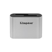 KINGSTON USB 3.2 GEN1 WORKFLOW DUAL SLOT SDHC/SDXC UHS-II CARD READER
