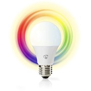 NEDIS WIFI SMART LED BULB FULL COLOUR AND WARM WHITE E27
